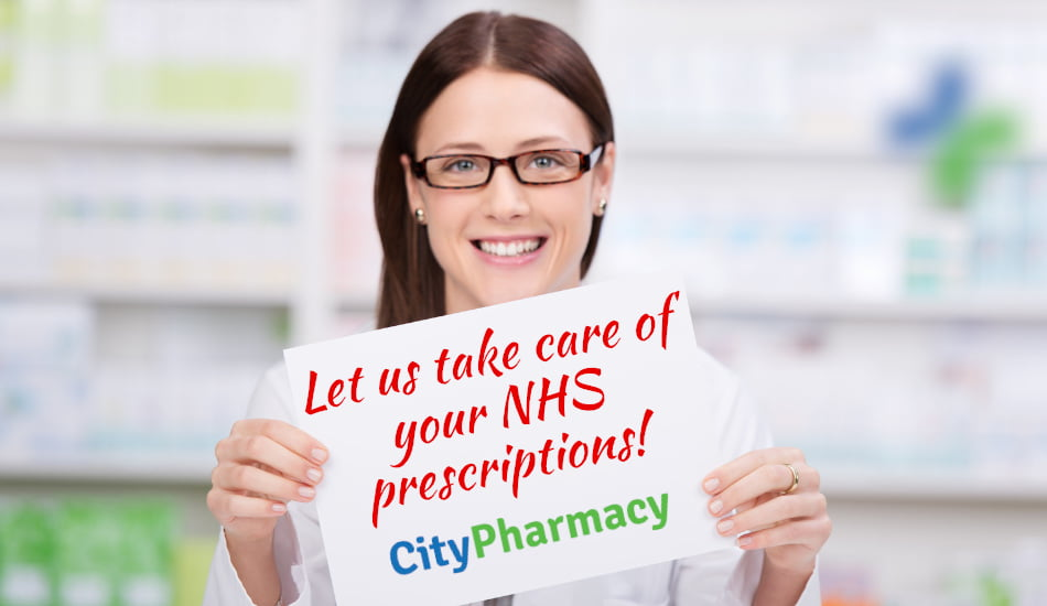 Let us take care of your NHS prescriptions